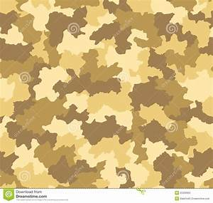 Desert Camouflage Seamless Pattern Stock Photos - Image ...