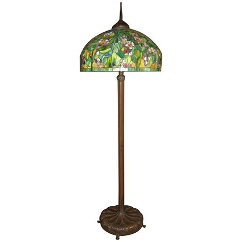 tiffany floor ls for sale tiffany style stained glass and bronze floor l for sale