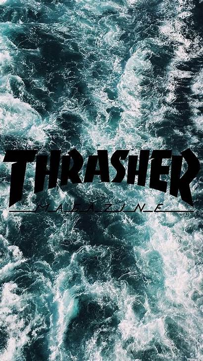 Thrasher Wallpapers Ocean Picserio Iphone Phone Background