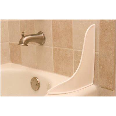 tub corner splash guard shower water going the shower curtain home