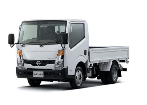 nissan announces   atlas  light duty truck