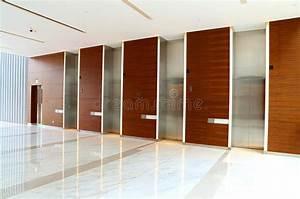 Modern Building Elevator Lobby Stock Photo - Image of ...
