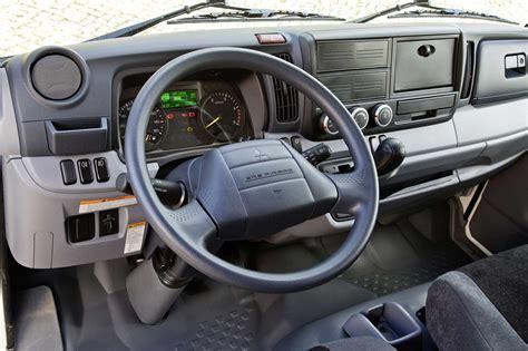 cabina camion fuso canter in prova