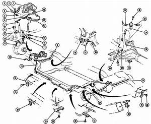 1967-68 Firebird Brake Lines Exploded View Images