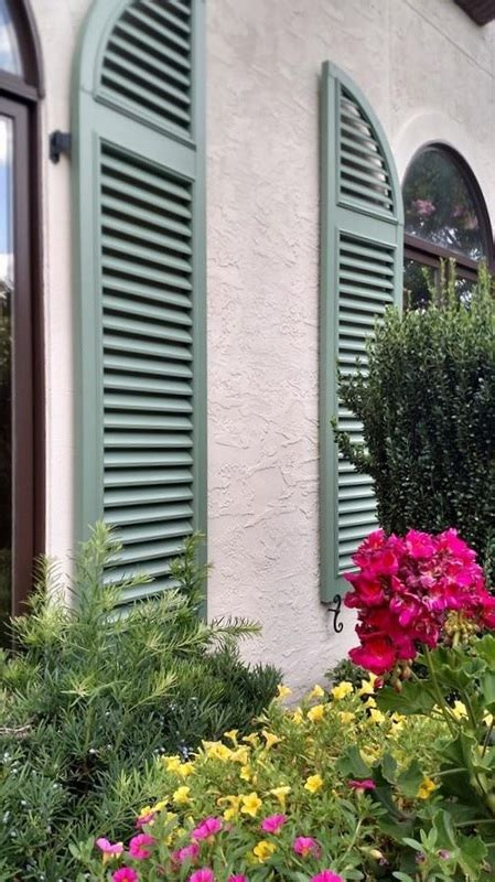 louvered exterior shutters palmetto window fashions shutters shades blinds drapery