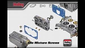 How To Adjust The Idle Mixture Screws On Holley