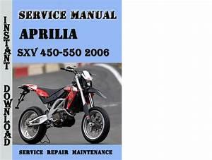 Aprilia Sxv 450-550 2006 Service Repair Manual