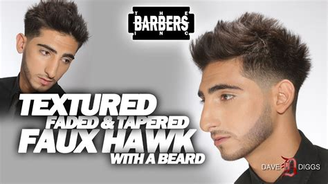 how to faux hawk blow out jersey shore faded and
