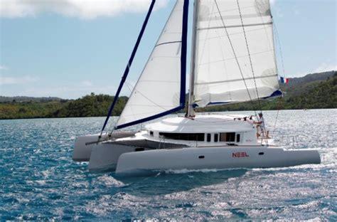 Trimaran Sailboat by Neel 45 Creature Comfort Meets High Performance Trimaran