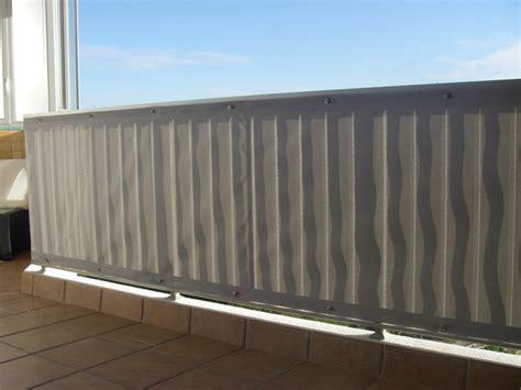 Brise vue pour balcon en toile toile cache vue balcon | Closdestreilles
