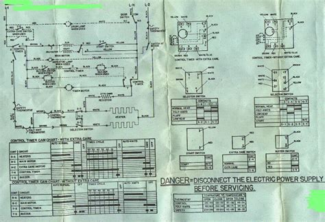 diagram amana dryer wiring diagram