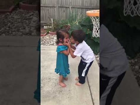 big brother helps  sister play basketball youtube