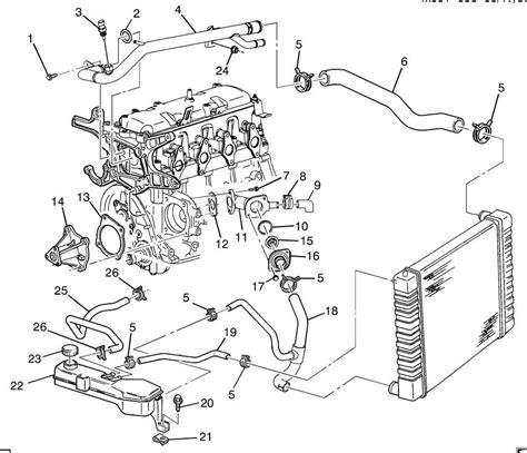 2002 Pontiac 3 4 Engine Cooling Diagram by Lit Literature