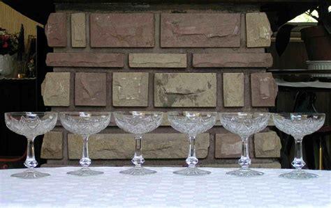 verres en cristal de baccarat service colbert