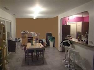 couleurs des murs pour espace ouvert forum interior With lovely peindre salon 2 couleurs 1 peindre le mur en 2 couleurs