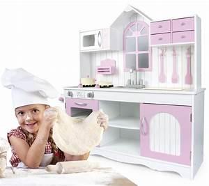 Kinderküche Aus Holz : leomark kinderk che aus holz royal rosa ~ Orissabook.com Haus und Dekorationen