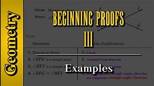 Geometry  Beginning Proofs  Level 3 Of 3