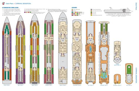 carnival sensation deck plan pricing aventura cruise miami x