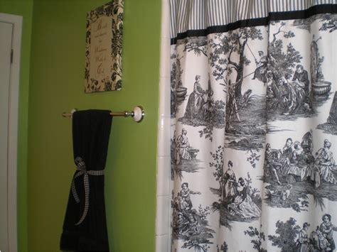 Curtains Drapes Amazing Toile Shower Curtain Impressive