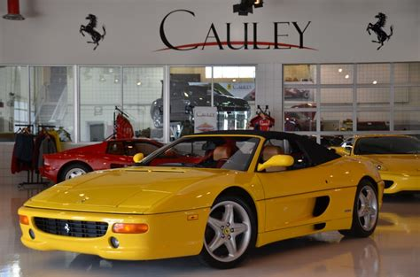Remember how older convertible sports cars would be flimsy in the corners? Used 1995 Ferrari F355 Spider For Sale ($64,900)   Cauley Ferrari Stock #F10075A