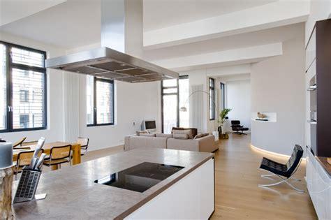 Loft Der Moderne Lebensstilschiebe Wand Im Loft by Loft Wohnung In Winterhude Modern Wohnzimmer Other