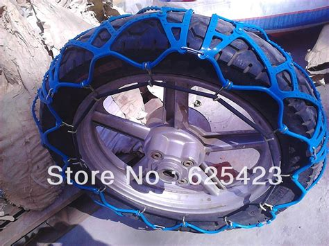 motorcycle tire chains biking snow chain equivalent