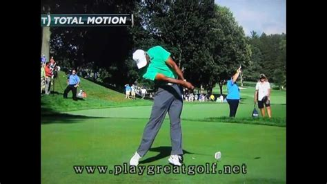 Tiger Woods Golf Swing Slow-Motion