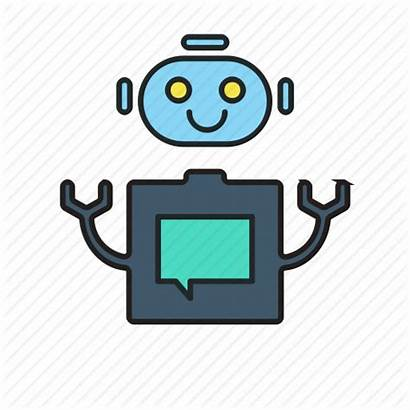Bot Bots Assistant Icon Robot Automated Machine