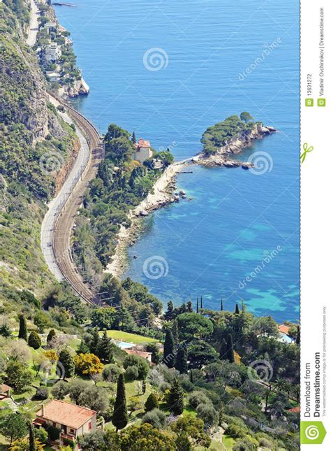 Wonderful View Of French Riviera Stock Photography  Image