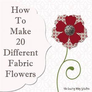 how to make handmade flowers from fabric - 28 images - how ...