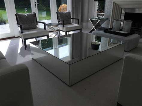 Mirrored Coffee Tables-klarity-glass Furniture