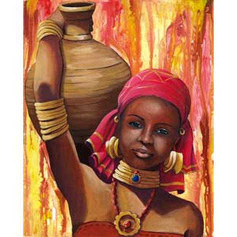 element de cuisine but image 3d femme portrait d 39 africaine 40 x 50 images 3d 40x50 cm creavea