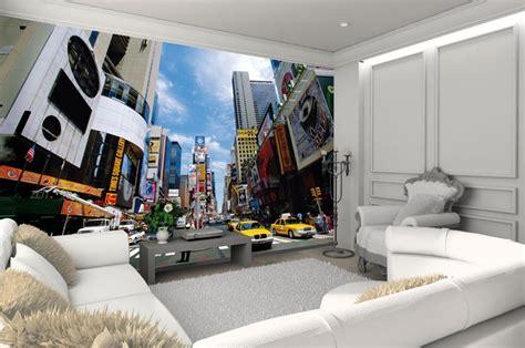 papier peint york chambre trompe l oeil ideesdecoration