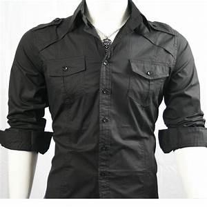 Mens Black Shirts Uk | Artee Shirt