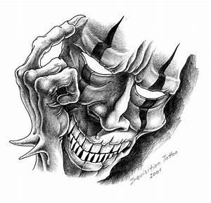 Evil Clown Mask Tattoo Design | Tattoobite.com | b.lamb ...