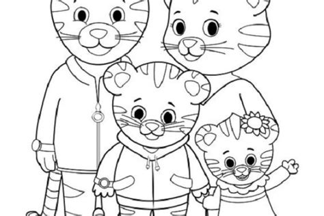 Daniel Tiger Coloring Pages Democraciaejustica