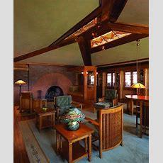 Arthur Heurtley House Interior Photos   Frank Lloyd