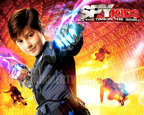 spy kids   time   world movies wallpaper