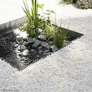 actualites plein air jardin piscine 12 37 commeunprocom With exceptional modele de parterre exterieur 10 jardin mineral creer un jardin de gravier