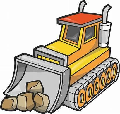 Clipart Logging Machine Clip Bulldozer Equipment Cliparts