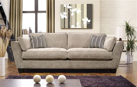 Large 4 Seater Sofas Italian Leather Sofa Homeland By