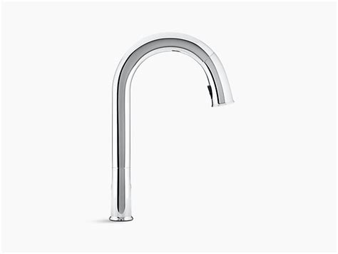 sensate touchless kitchen faucet k 72218 sensate touchless pull down kitchen sink faucet kohler