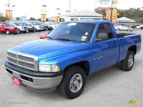 1998 Intense Blue Pearl Dodge Ram 1500 St Regular Cab