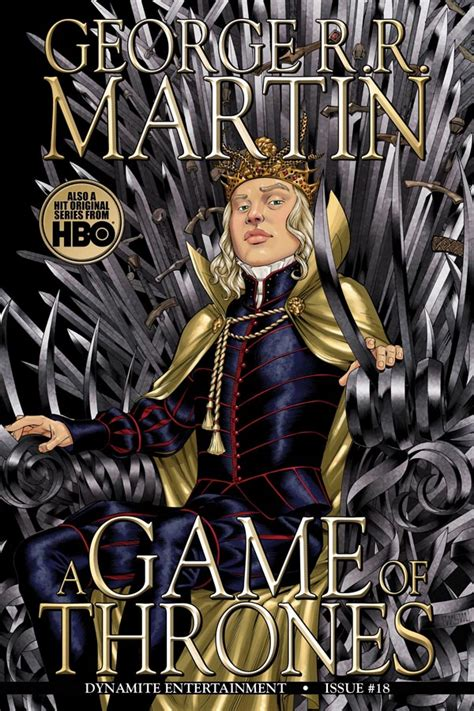 dynamite george rr martins  game  thrones