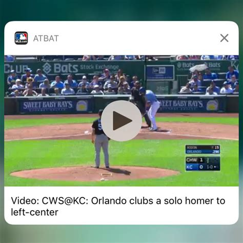 mlb  bat brings baseball highlights   iphone lock