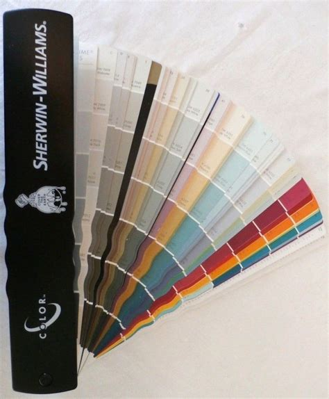 sherwin williams paint color samples professional fan deck
