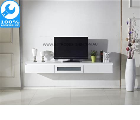 wall mount tv cabinet white expressia wall mounted tv cabinet