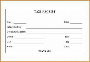 taxi invoice template receipt template taxi receipt With taxi invoice template