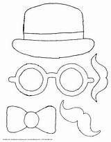 Booth Doodle Coloring Props Doodles sketch template