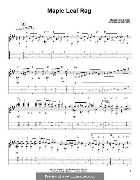 Scott joplin's maple leaf rag, arranged for early intermediates, by jennifer eklund. Maple Leaf Rag by S. Joplin - sheet music on MusicaNeo